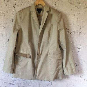 MODA INTERNATIONAL TAN TRENCH COAT L
